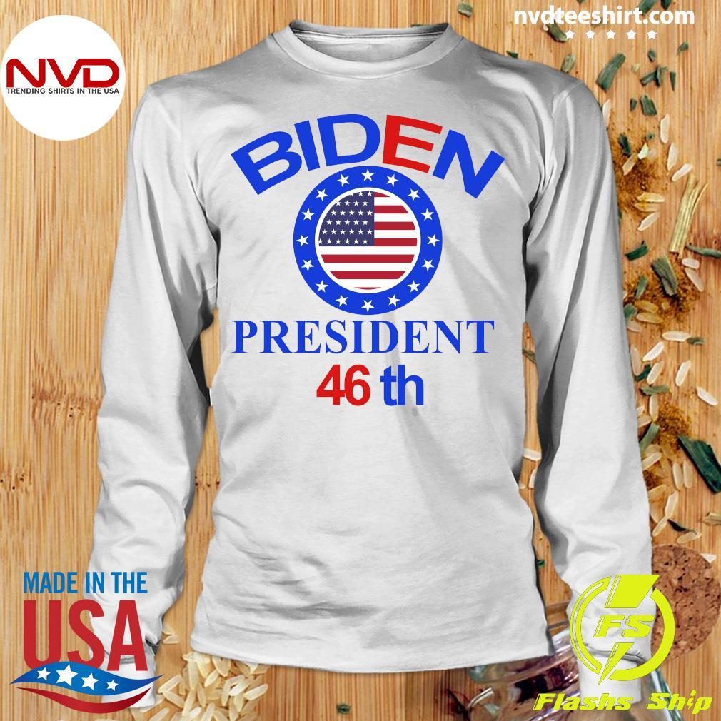 Official Biden Harris Starts Now 01-20-2021 Inaugural T-s Longsleeve