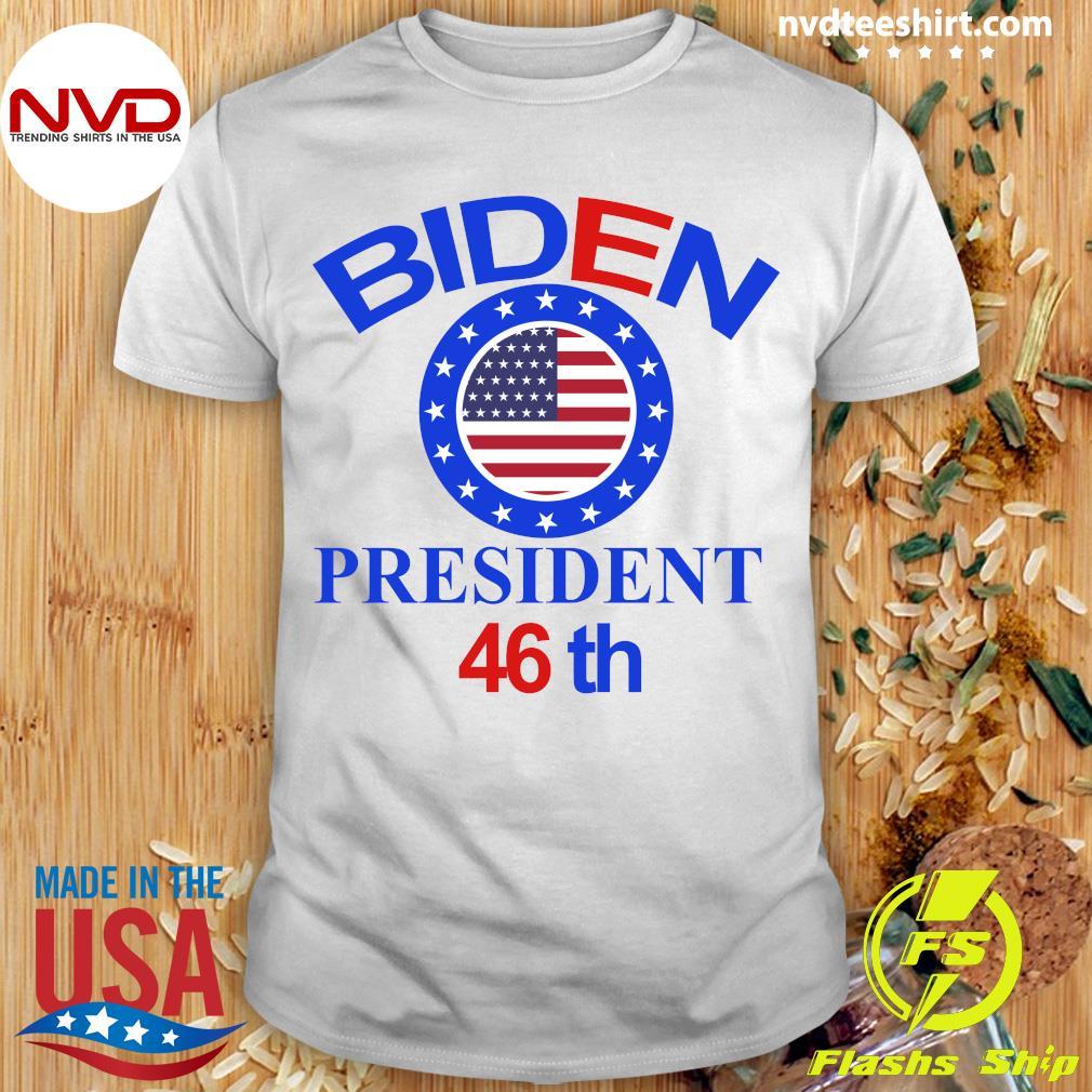 Official Biden Harris Starts Now 01-20-2021 Inaugural T-shirt