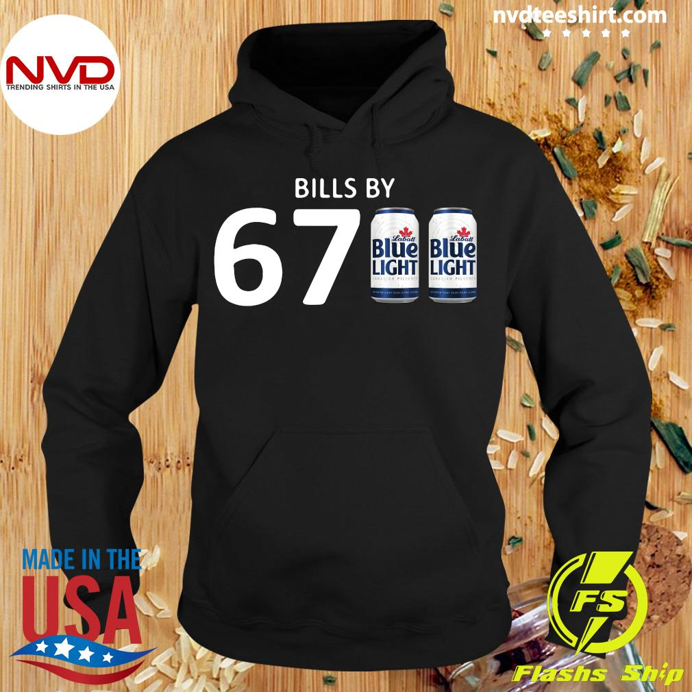 Official Bills By 67 Blue Light T-s Hoodie