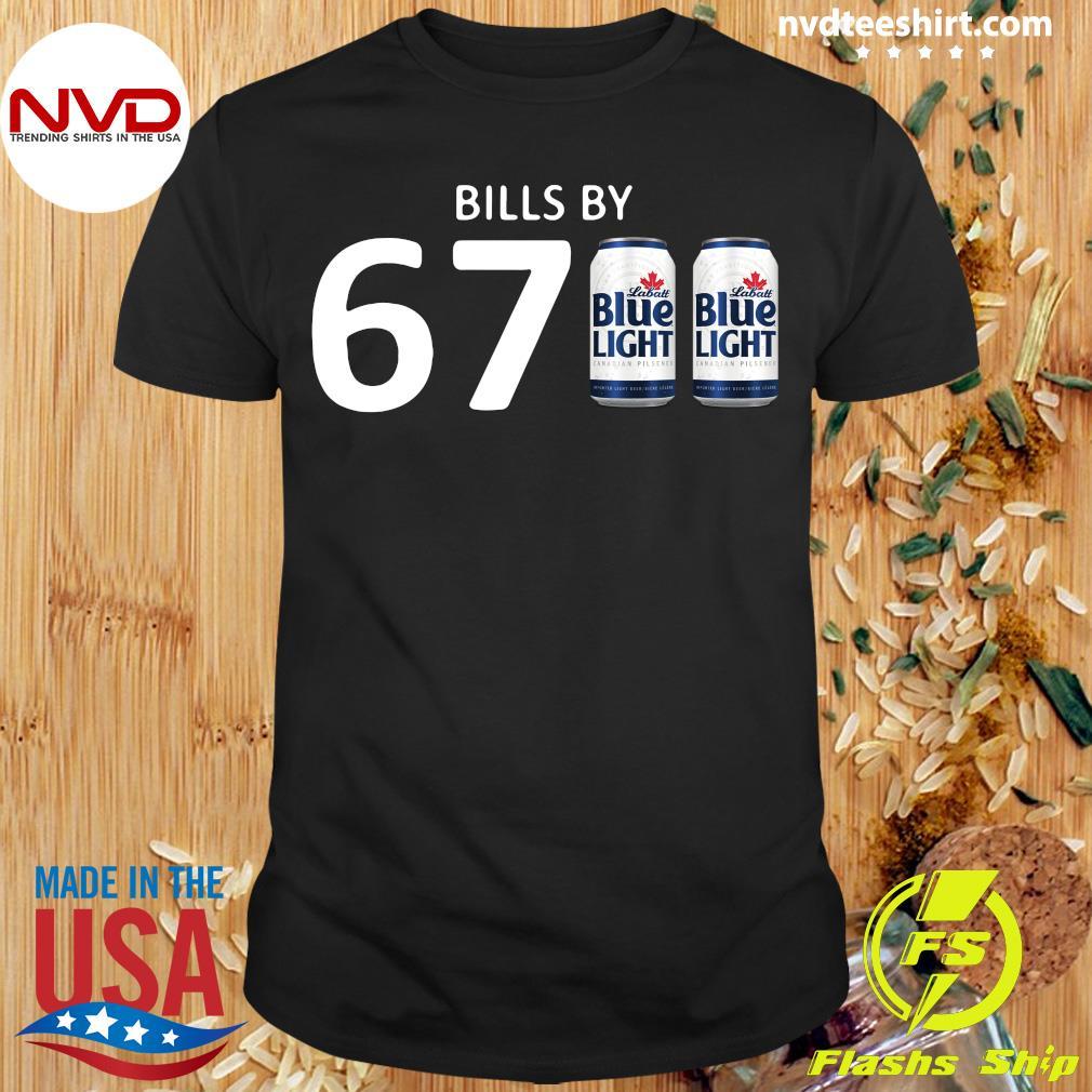 Official Bills By 67 Blue Light T-shirt