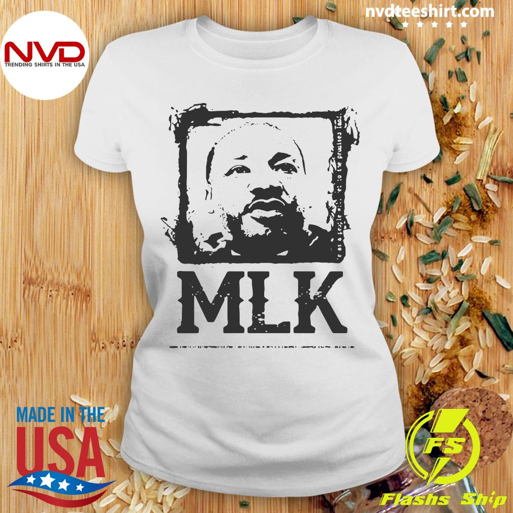 Official Black Portrait Martin Luther King MLK T-s Ladies tee