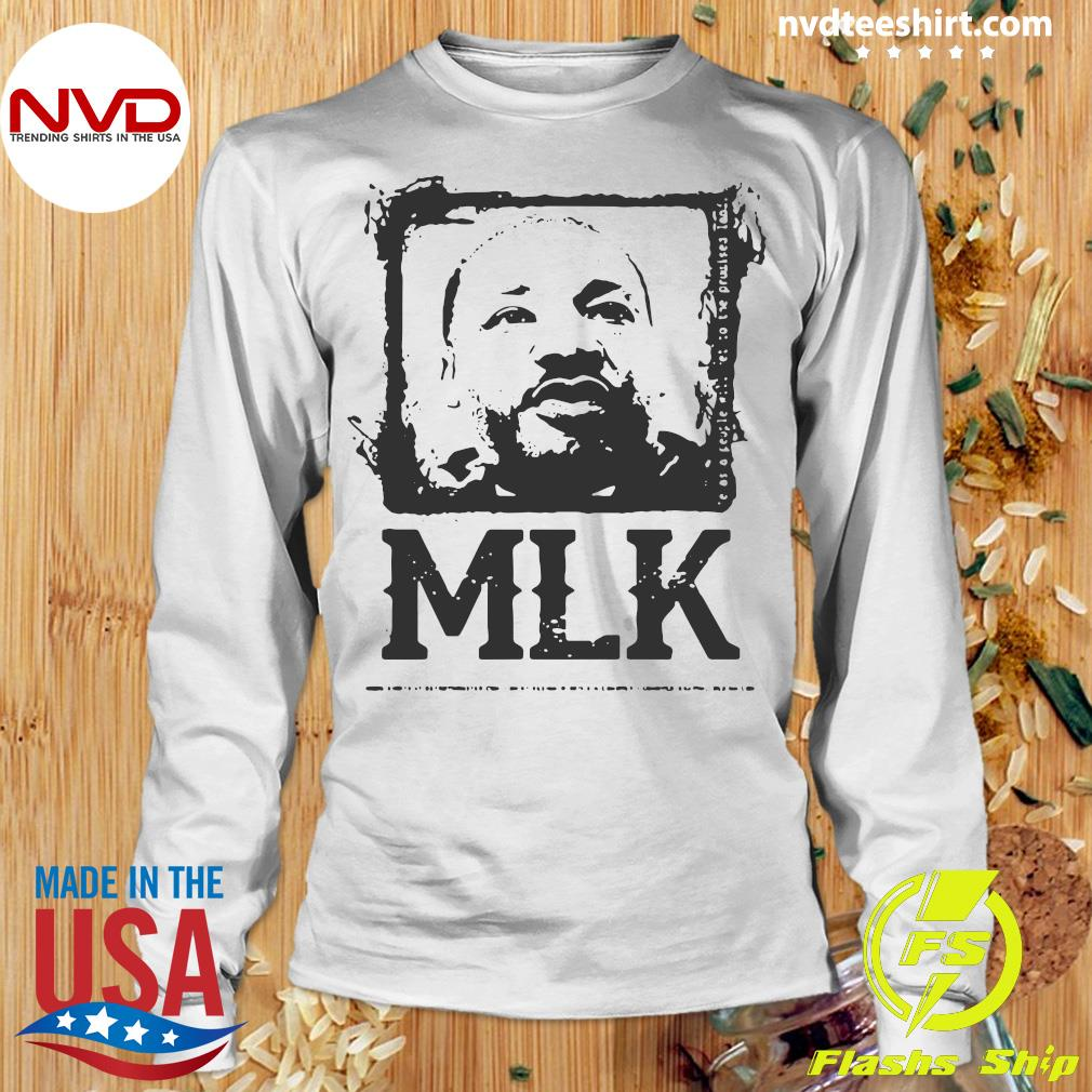 Official Black Portrait Martin Luther King MLK T-s Longsleeve