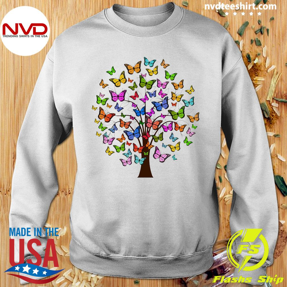 Official Butterflies In A Tree T-s Sweater