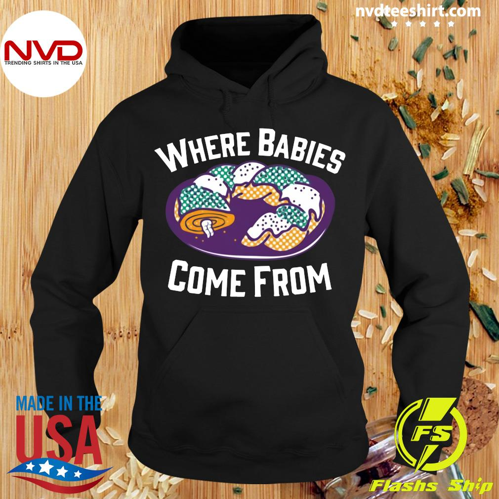 Official Cake Where Babies Come From T-s Hoodie