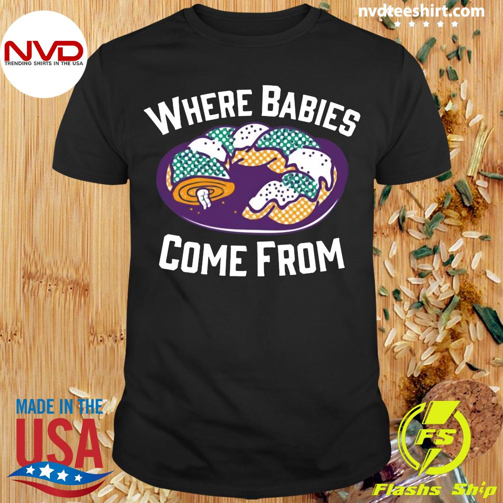 Official Cake Where Babies Come From T-shirt