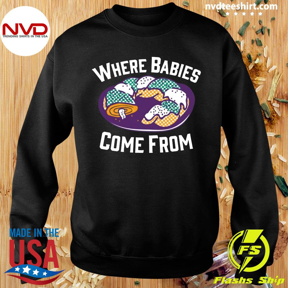 Official Cake Where Babies Come From T-s Sweater