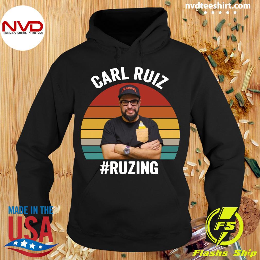 Official Carl Ruiz Ruzing Vintage T-s Hoodie