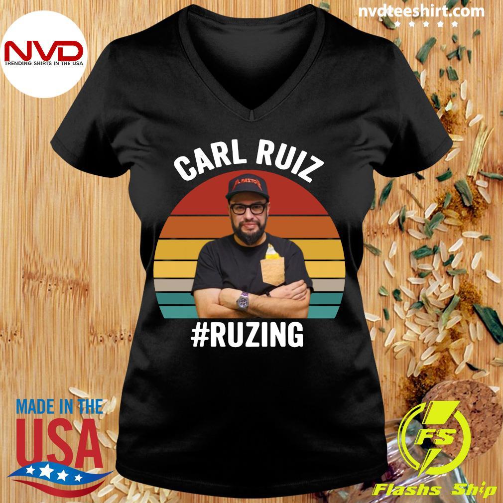 Official Carl Ruiz Ruzing Vintage T-s Ladies tee