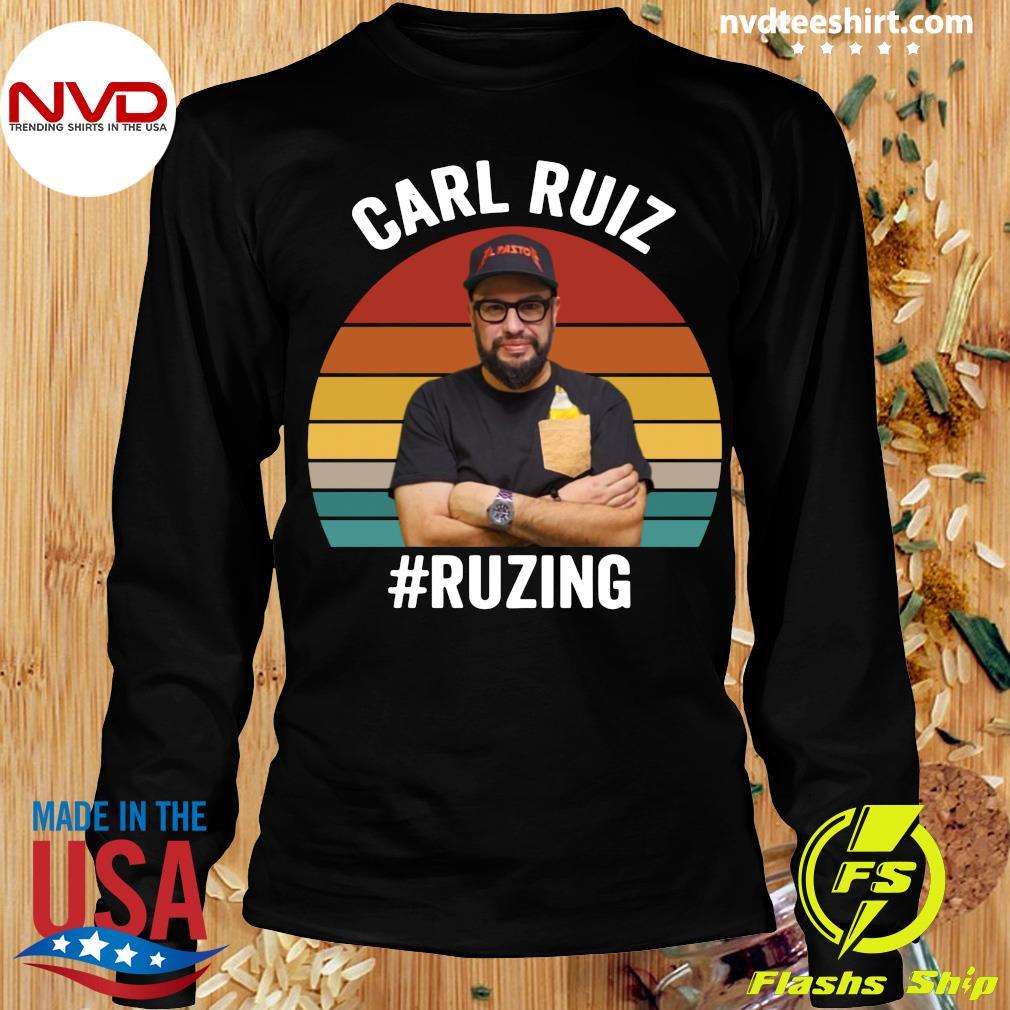 Official Carl Ruiz Ruzing Vintage T-s Longsleeve