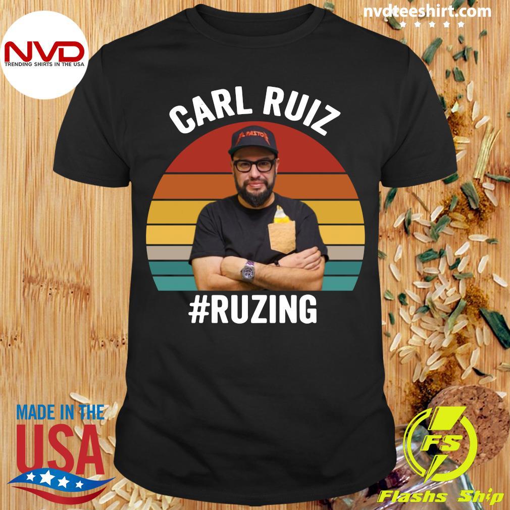 Official Carl Ruiz Ruzing Vintage T-shirt