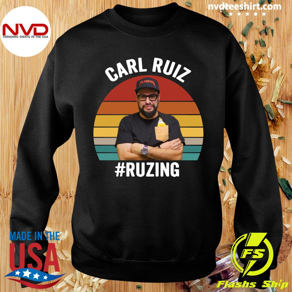 Official Carl Ruiz Ruzing Vintage T-s Sweater