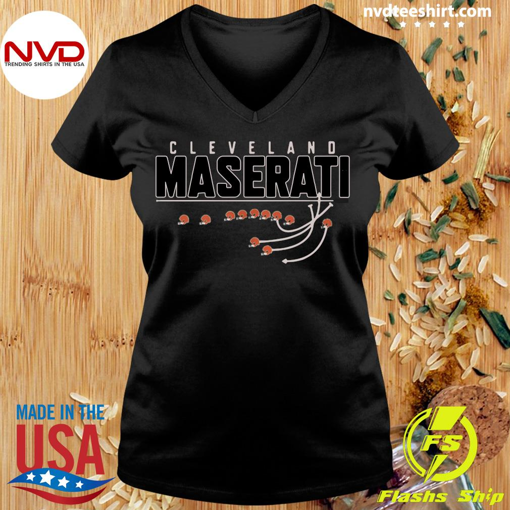 Official Cleveland Browns Maserati T-s Ladies tee