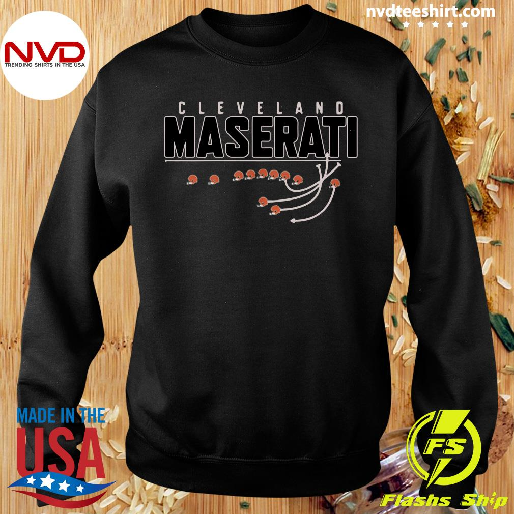 Official Cleveland Browns Maserati T-s Sweater