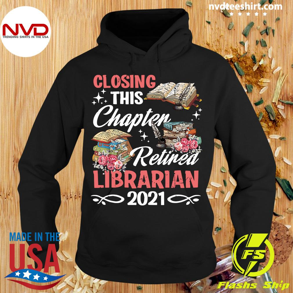Official Costume Retirement Libra Retired Librarian 2021 T-s Hoodie