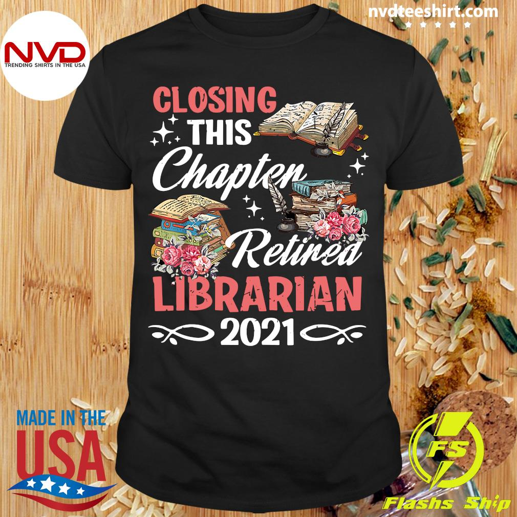Official Costume Retirement Libra Retired Librarian 2021 T-shirt