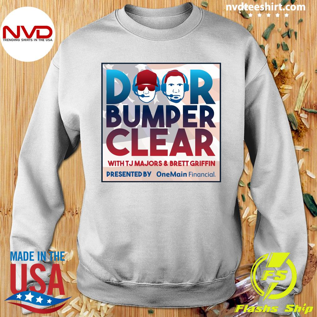 Official Door Bumper Clear With TJ Majors And Brett Griffin T-s Sweater