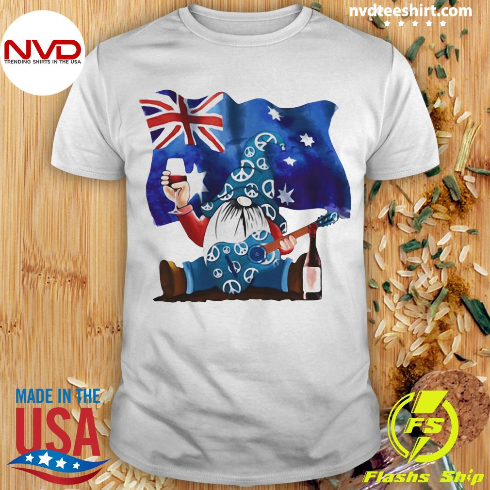 Official Dwarfs Wine Australia Flag T-shirt