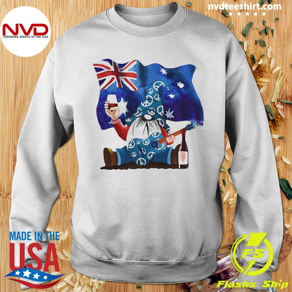 Official Dwarfs Wine Australia Flag T-s Sweater
