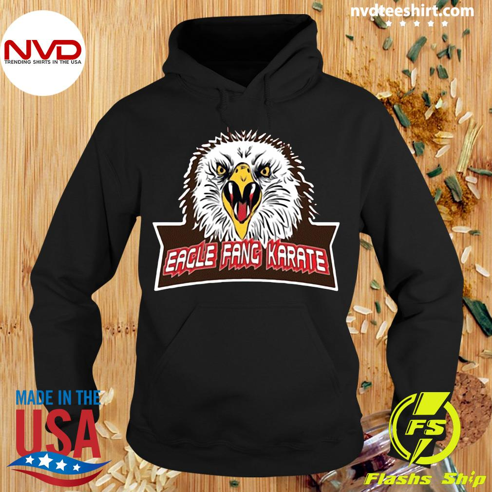 Official Eagle Fang Karate Cobra Kai T-s Hoodie