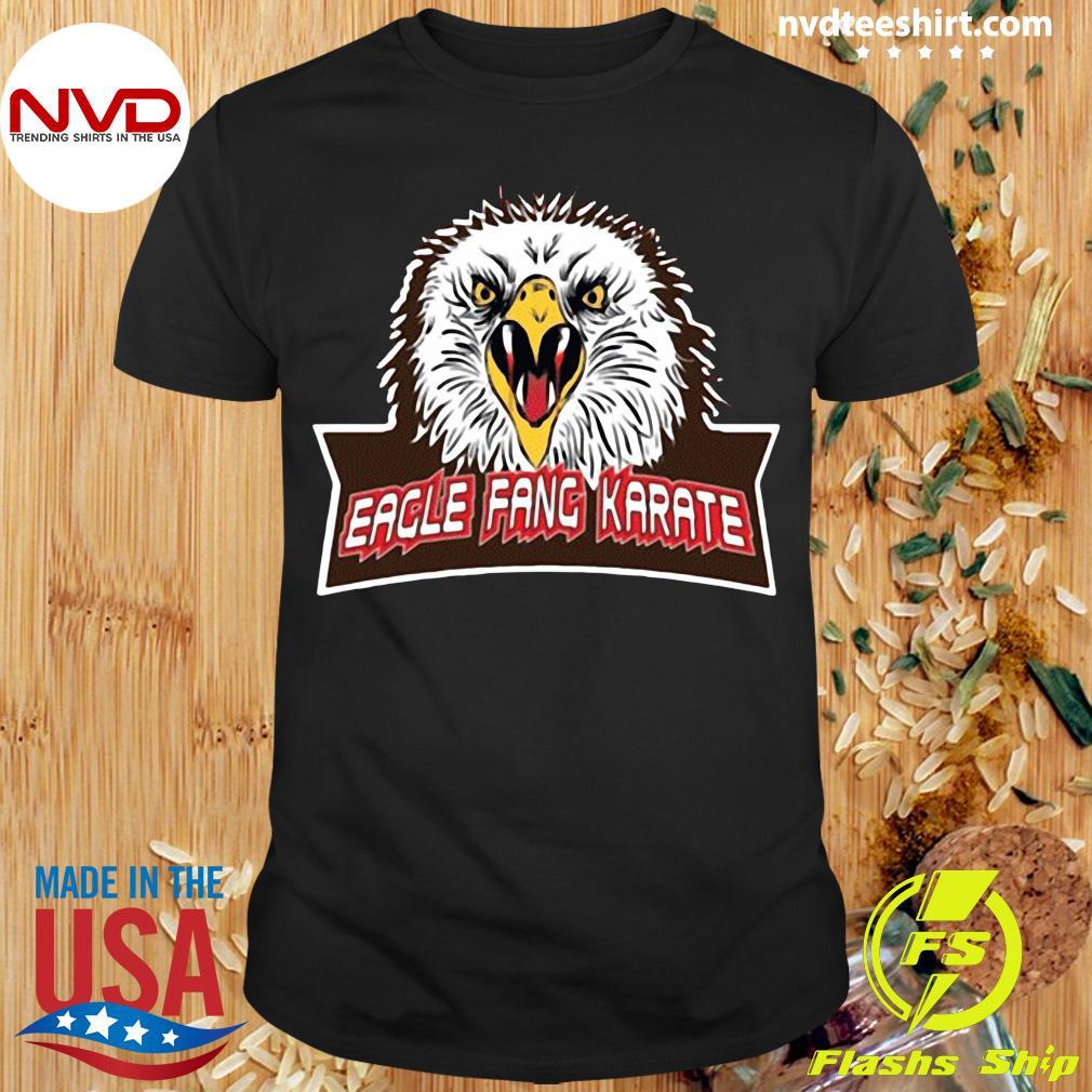 Official Eagle Fang Karate Cobra Kai T-shirt