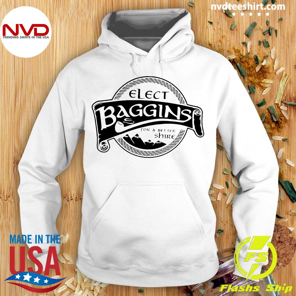 Official Elect Baggins For A Better Shire T-s Hoodie