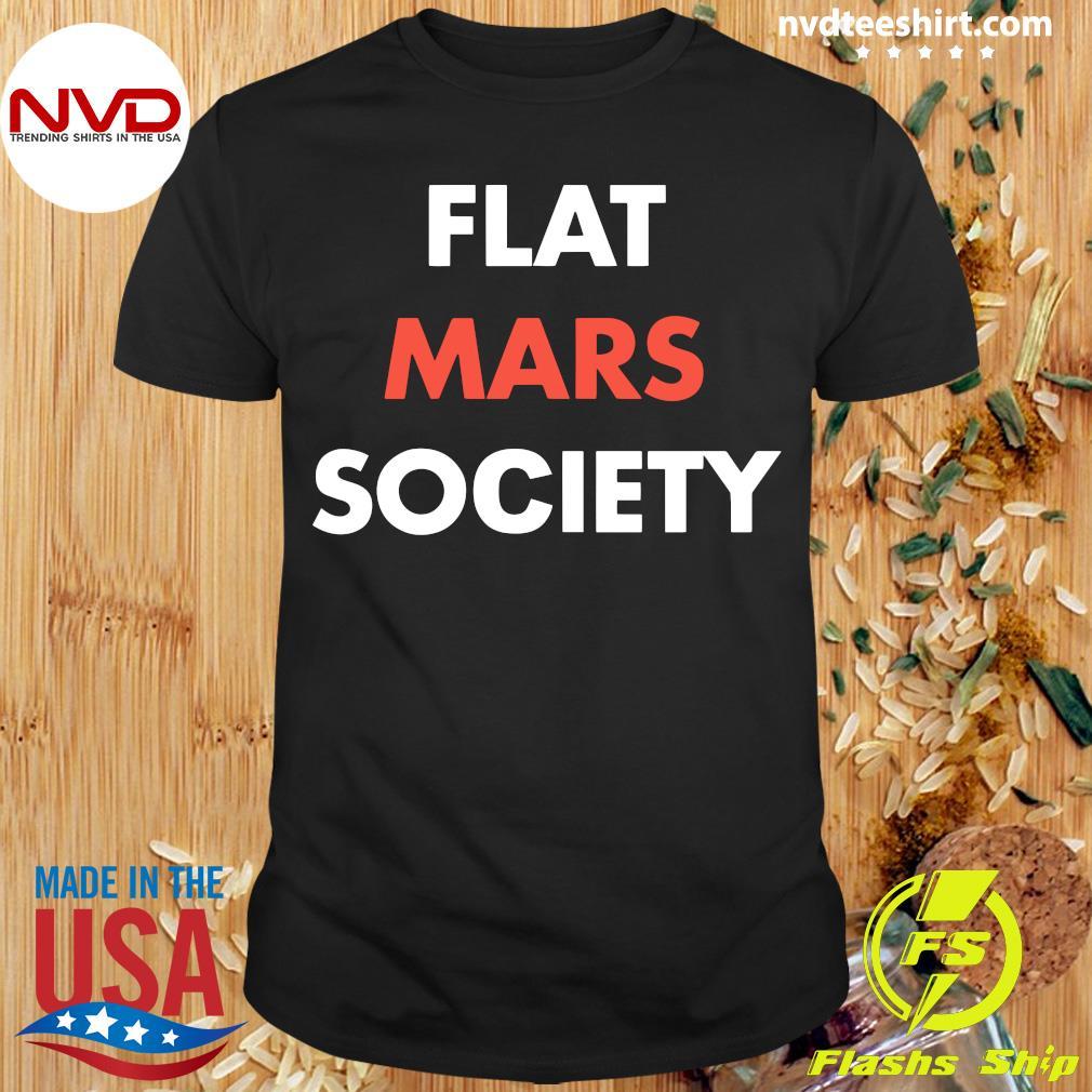 Official Flat Mars Society T-shirt