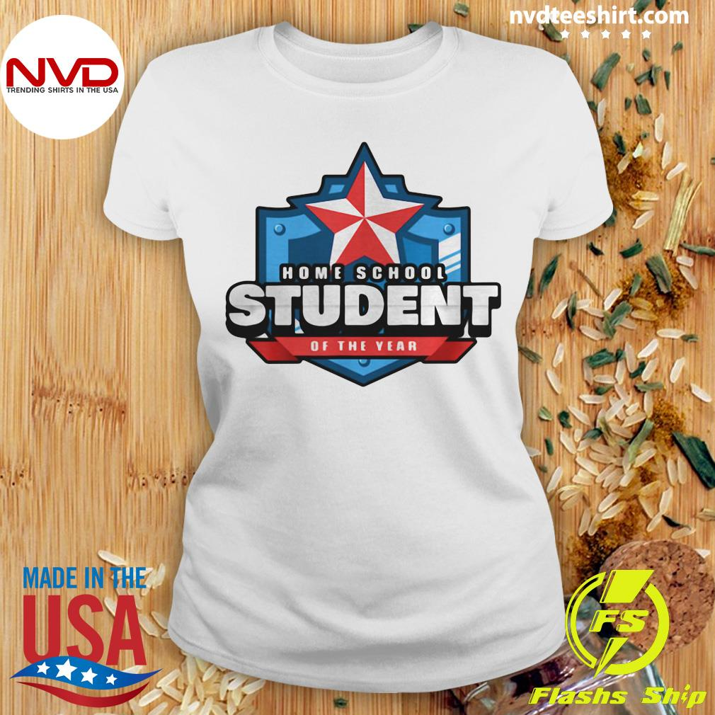 Official Home School Student Of The Year Online Learning T-s Ladies tee