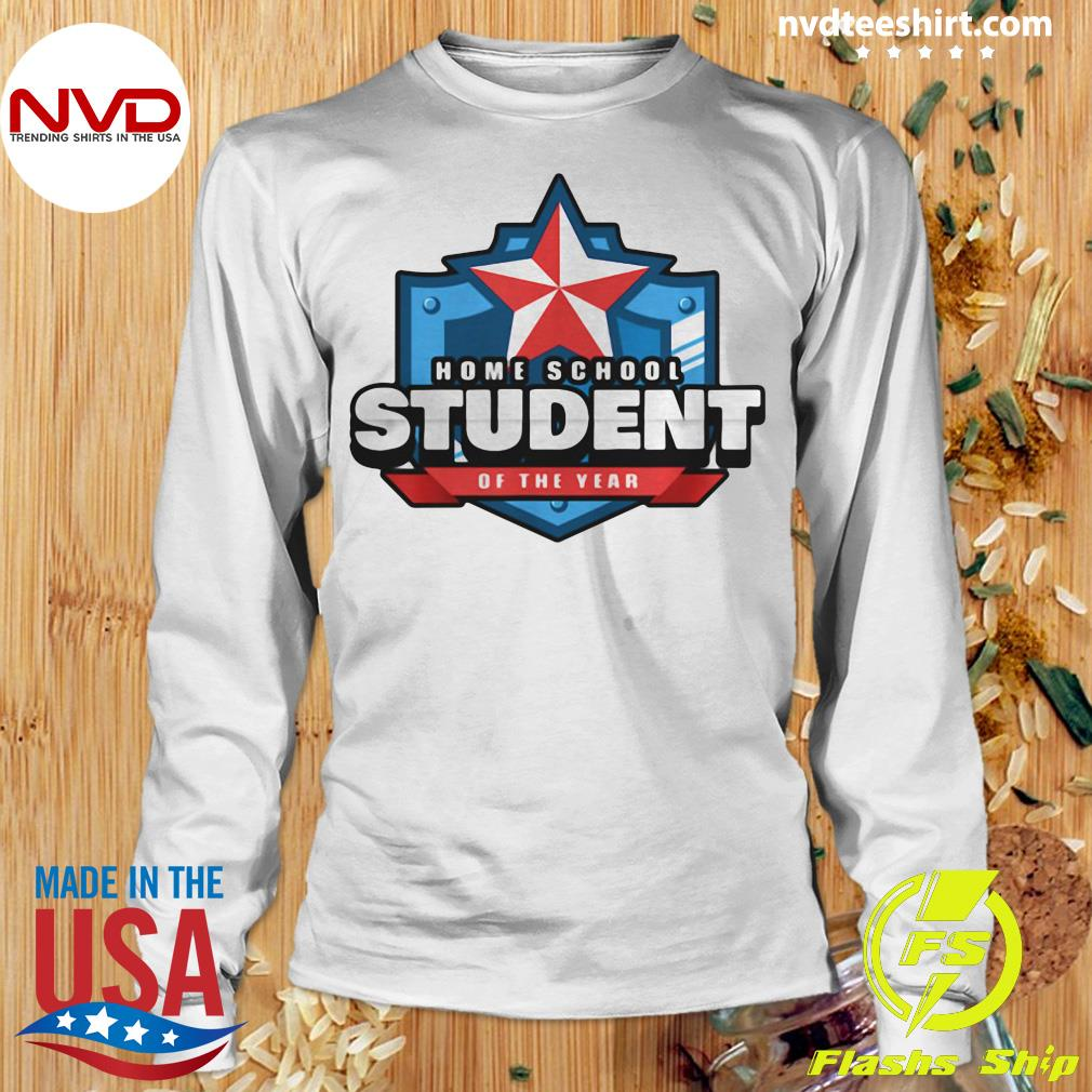 Official Home School Student Of The Year Online Learning T-s Longsleeve