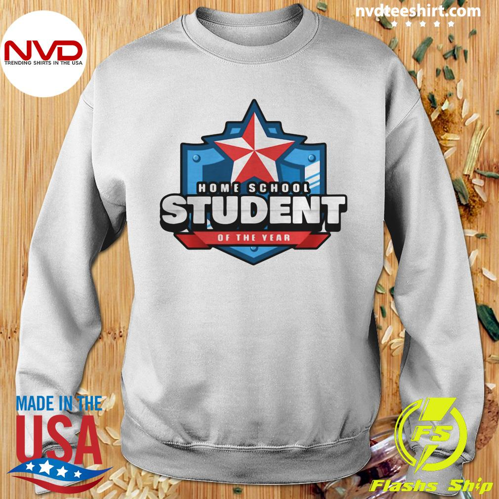 Official Home School Student Of The Year Online Learning T-s Sweater