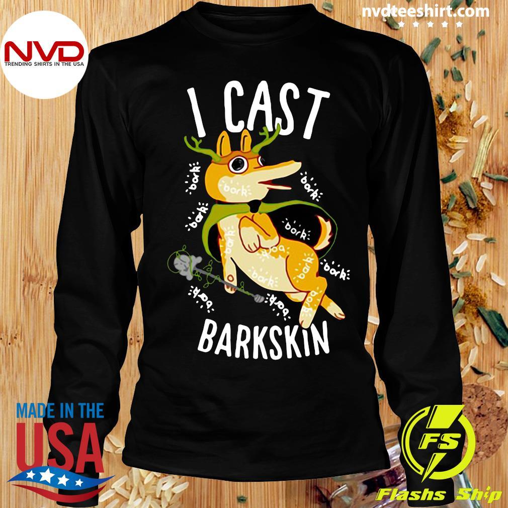 Official I Cast Barkskin T-s Longsleeve