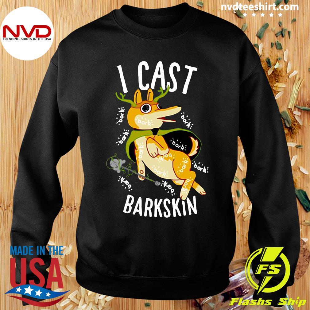 Official I Cast Barkskin T-s Sweater