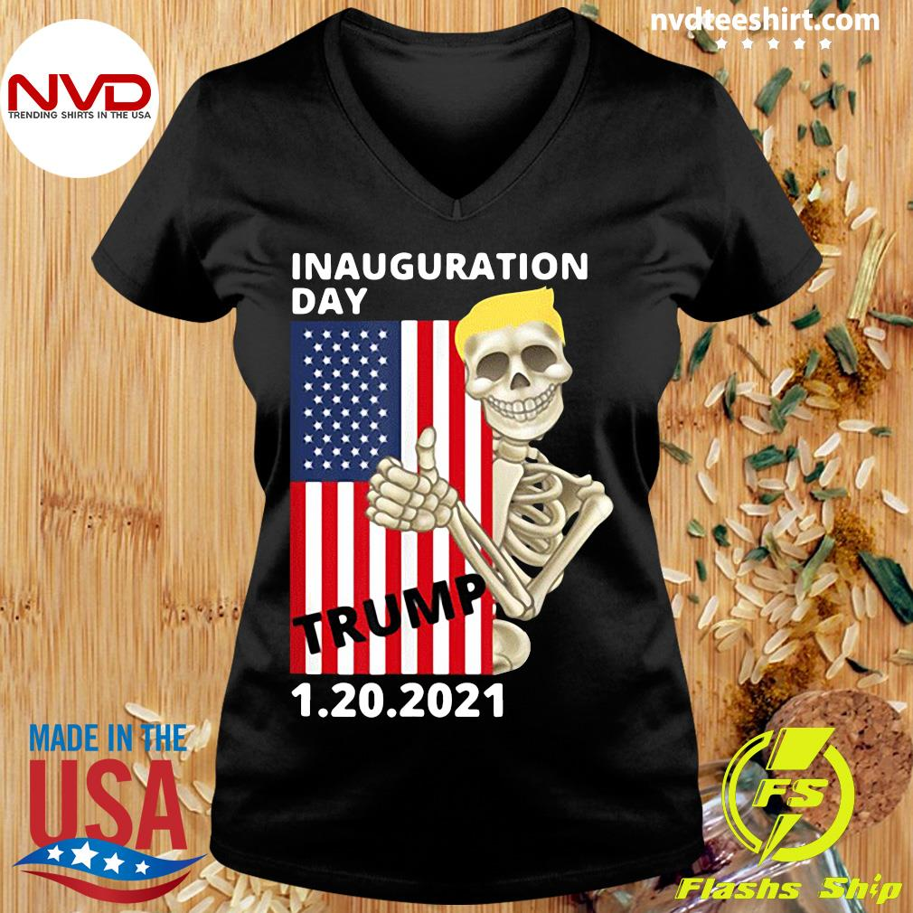 Official Inauguration Day January 20 2021 Trump Pence T-s Ladies tee
