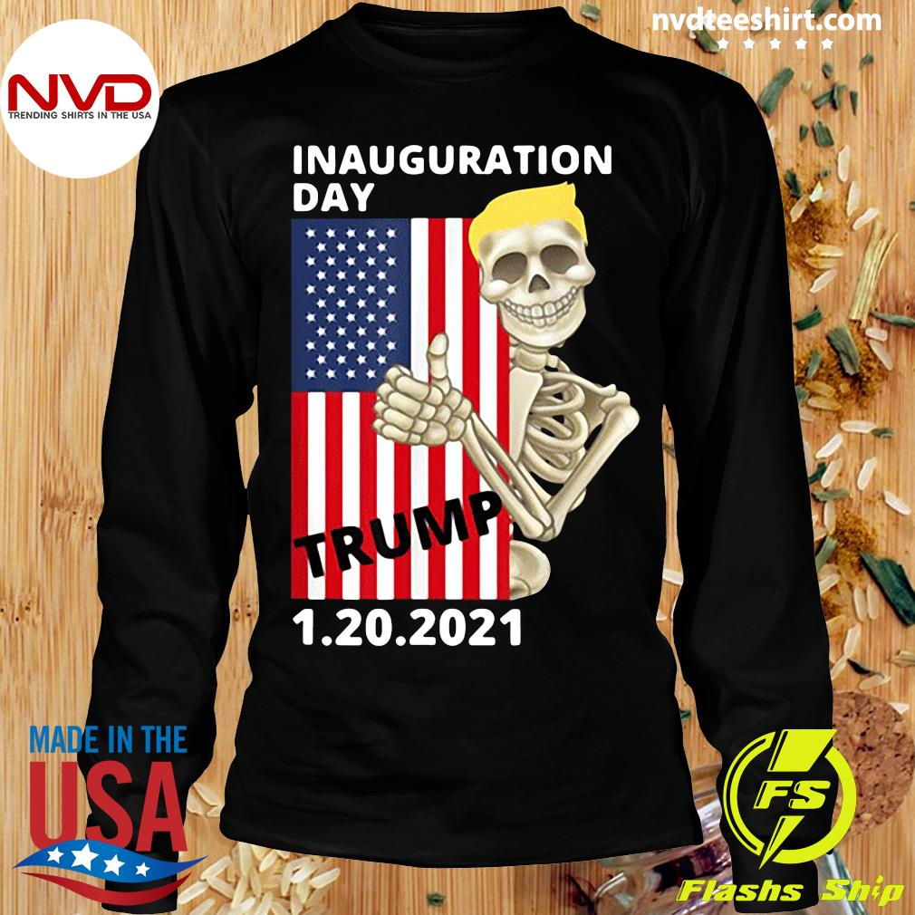 Official Inauguration Day January 20 2021 Trump Pence T-s Longsleeve