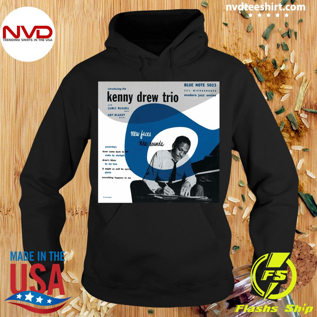 Official Kenny Drew Trio New Face Blue Note 5023 T-s Hoodie