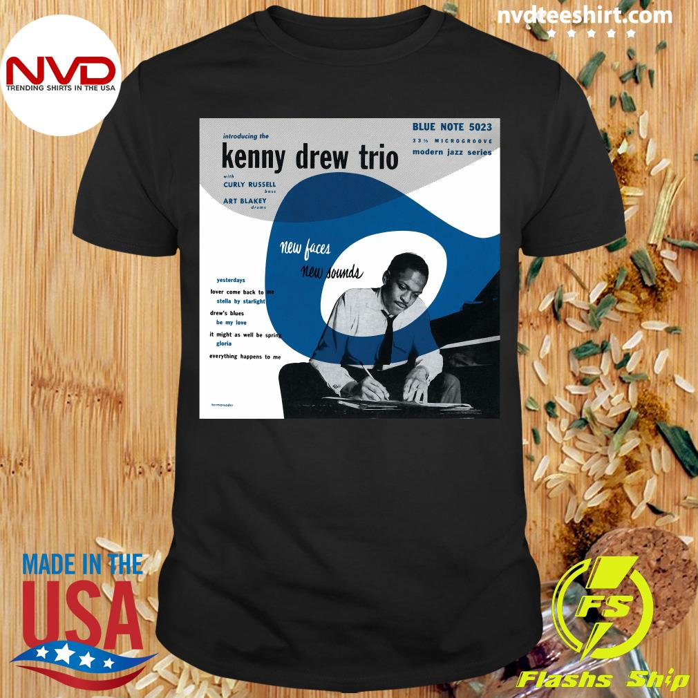 Official Kenny Drew Trio New Face Blue Note 5023 T-shirt