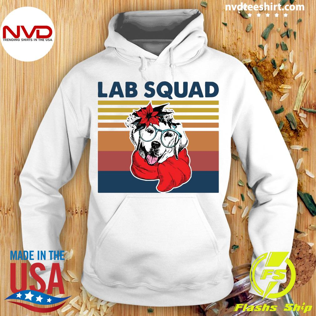 Official Labrador Lab Squad Duck Hunting Vintage T-s Hoodie