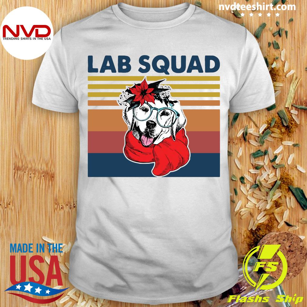 Official Labrador Lab Squad Duck Hunting Vintage T-shirt