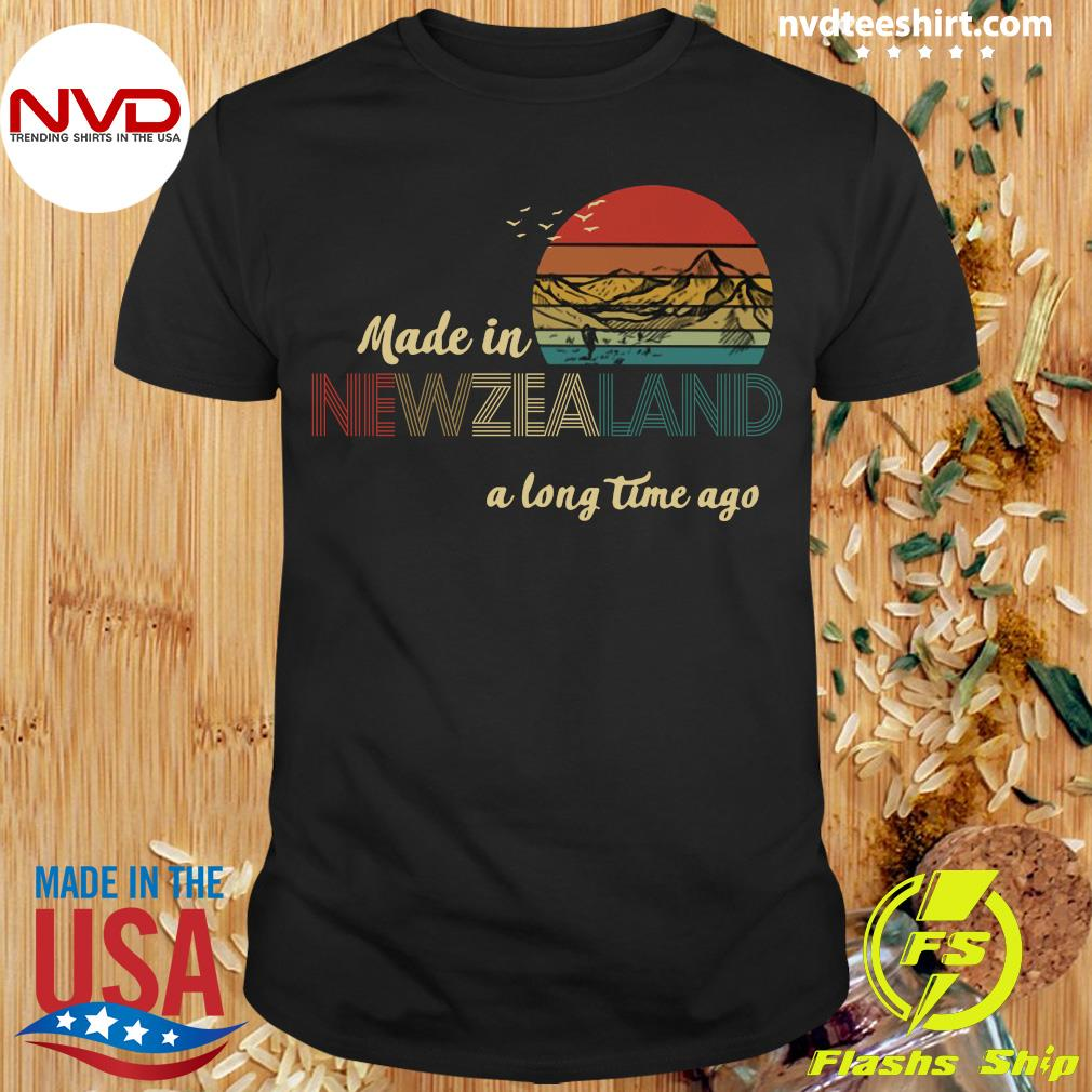 Official Made In New Zealand A Long Time Ago Vintage T-shirt
