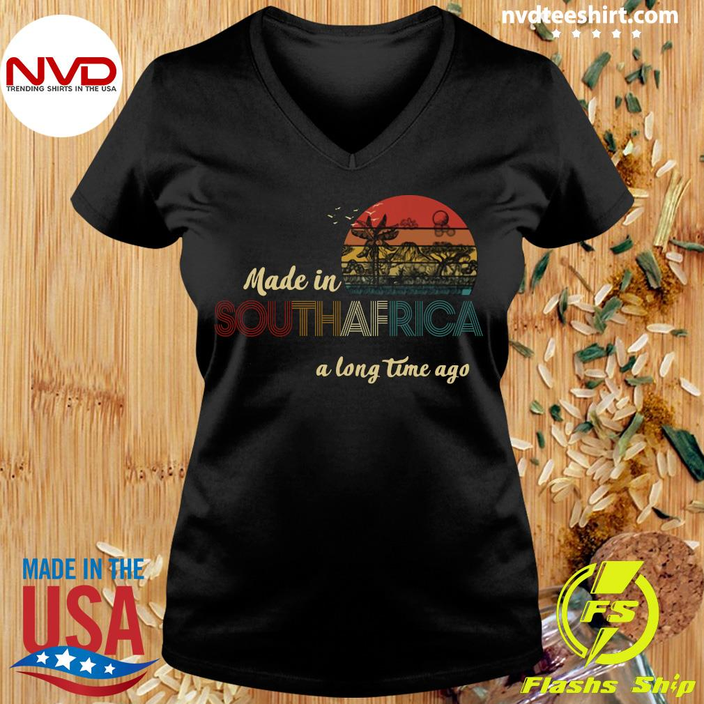 Official Made In South Africa A Long Time Ago Vintage Retro T-s Ladies tee