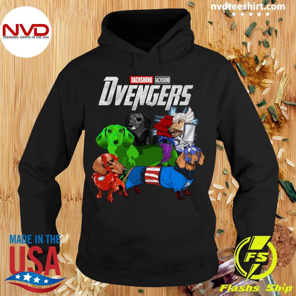 Official Marvel Avengers Endgame Dachshund Dvengers T-s Hoodie