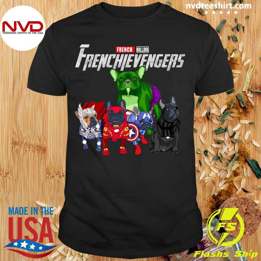 Official Marvel Avengers French Bulldog Frenchievenger T-shirt