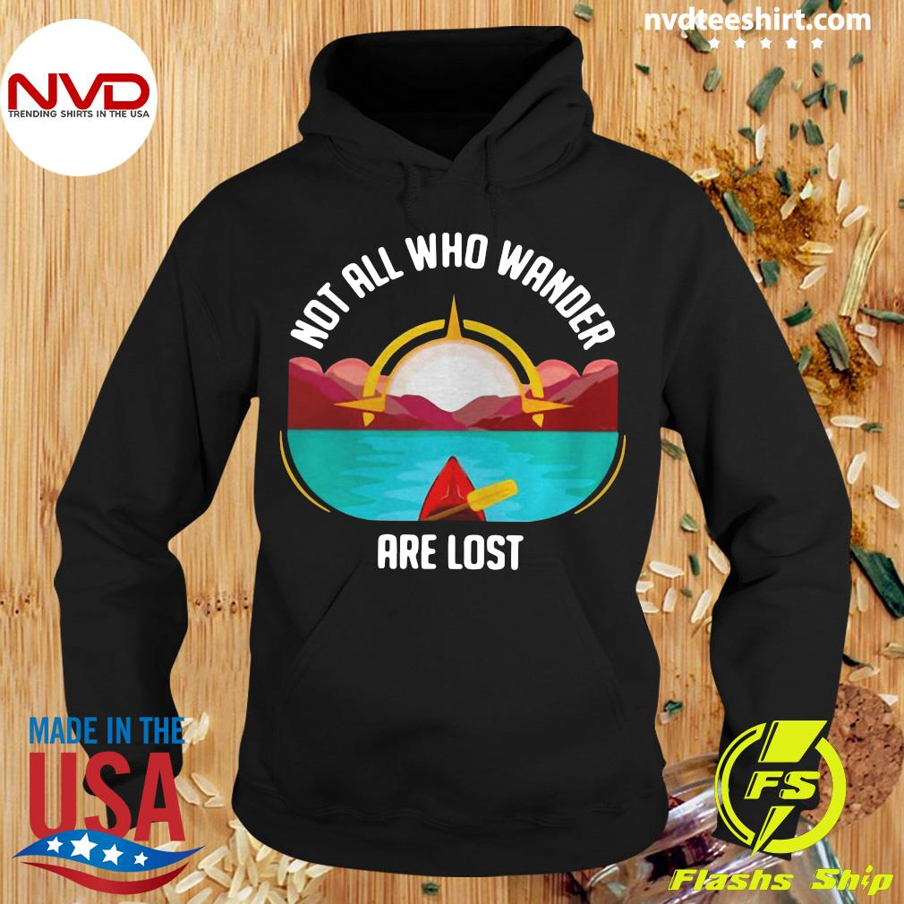 Official Rowing Not All Who Wander Are Lost T-s Hoodie