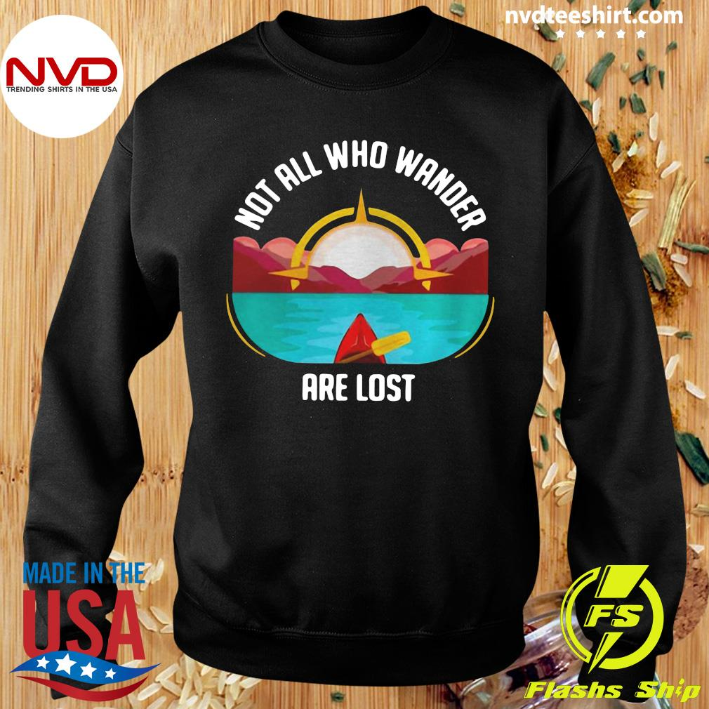 Official Rowing Not All Who Wander Are Lost T-s Sweater