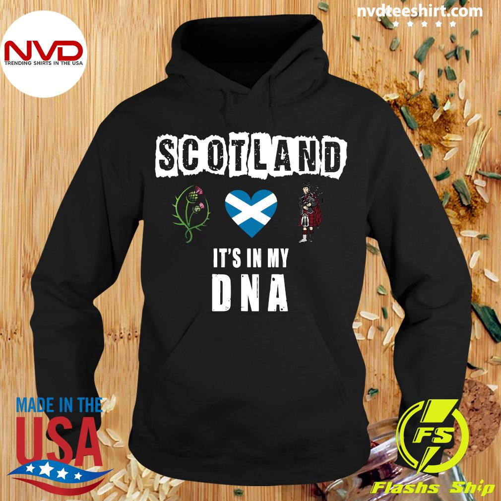 Official Scotland It's In My Dna T-s Hoodie