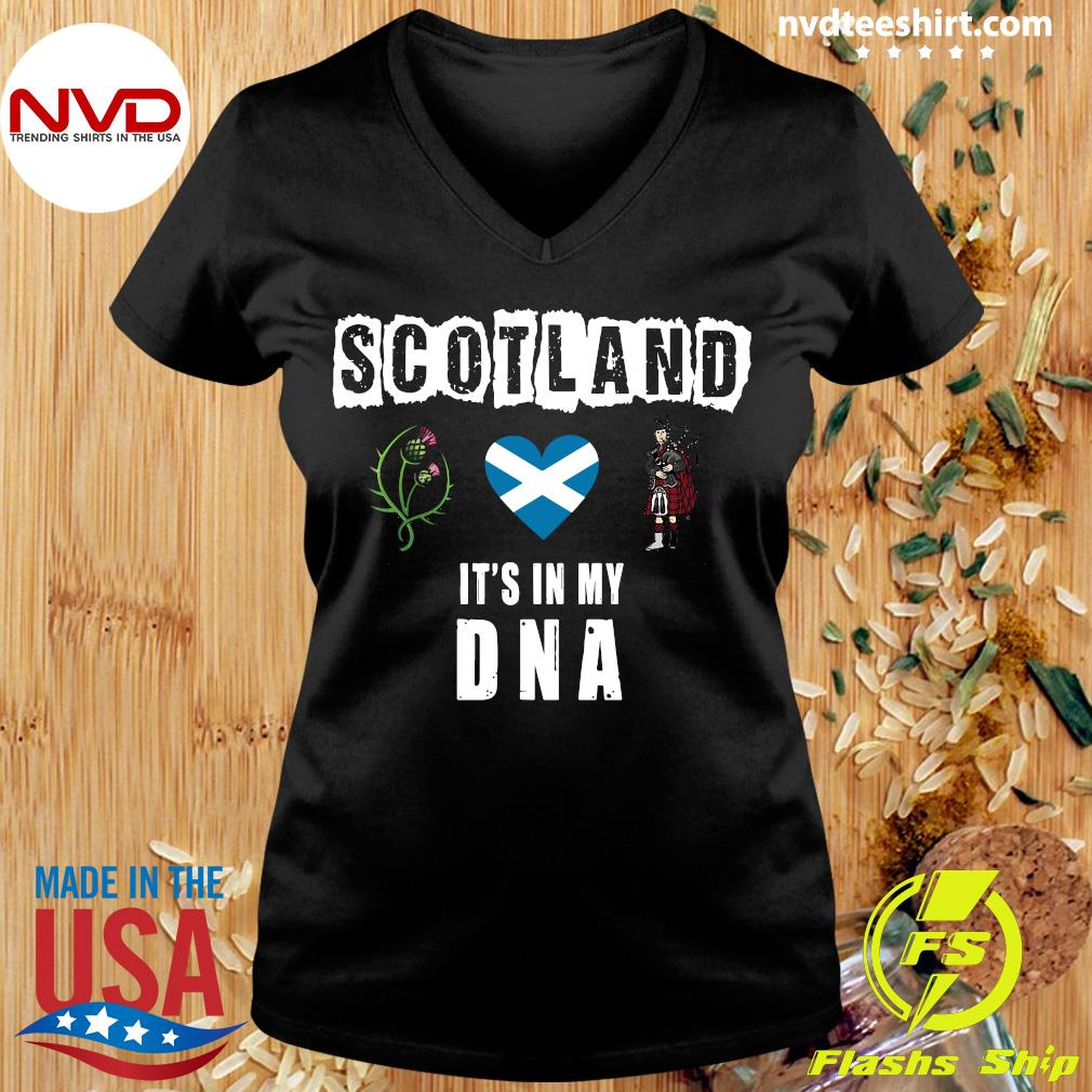Official Scotland It's In My Dna T-s Ladies tee