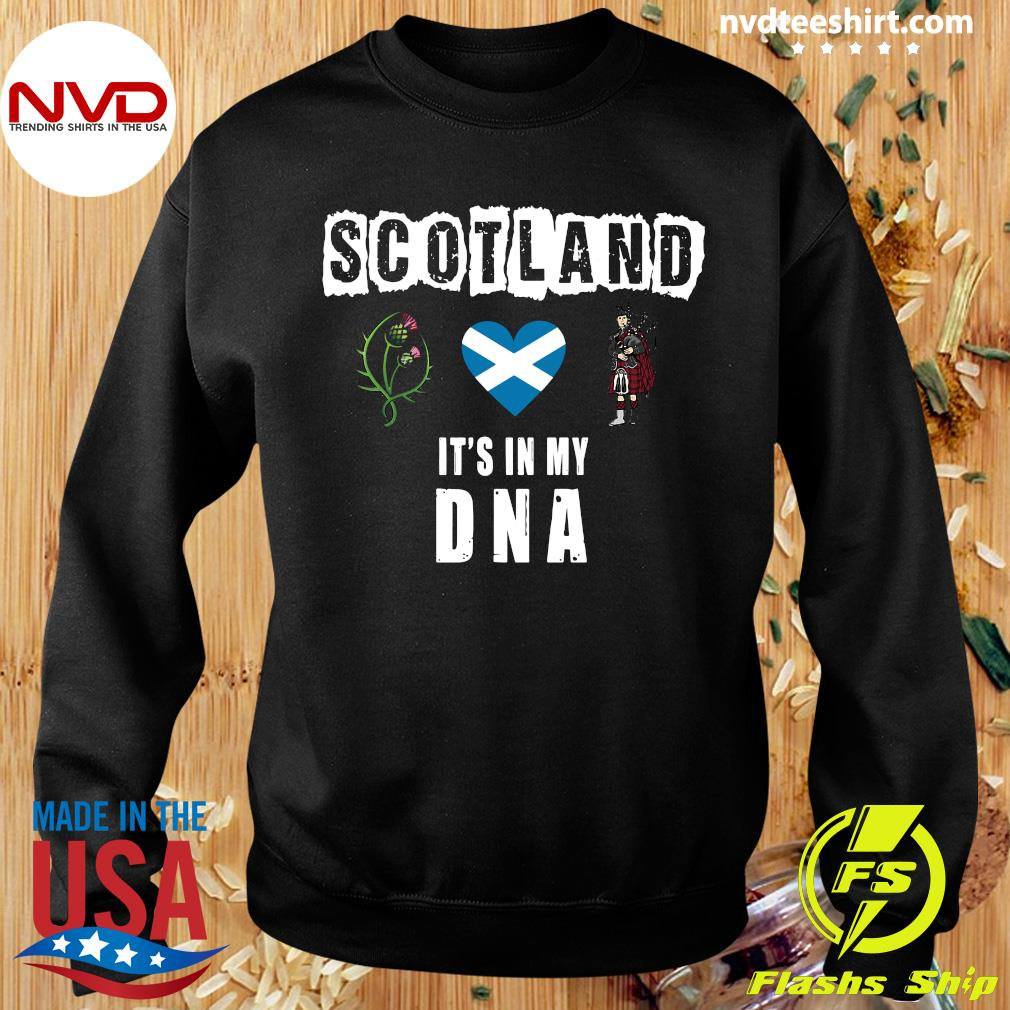 Official Scotland It's In My Dna T-s Sweater
