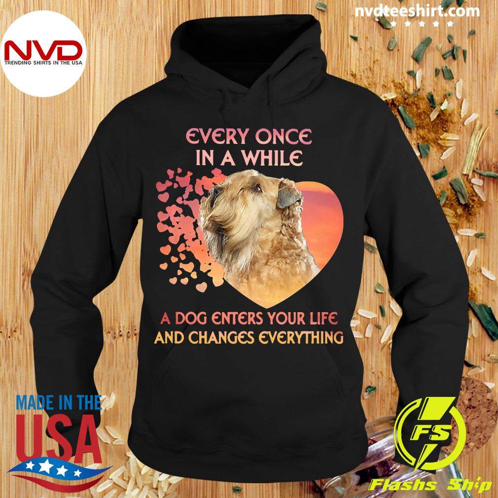 Official Shih Tzu Every Once In A While A Dog Enters Your Life And Changes Everything T-s Hoodie