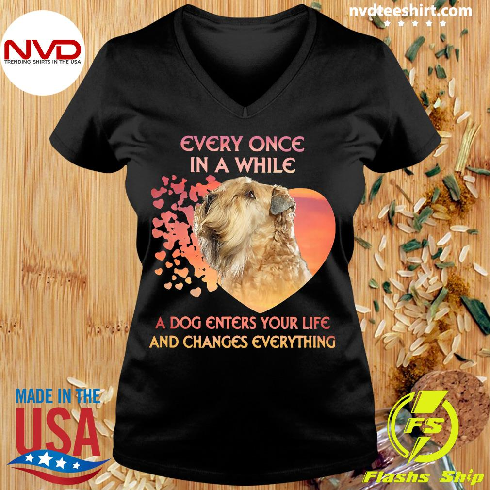 Official Shih Tzu Every Once In A While A Dog Enters Your Life And Changes Everything T-s Ladies tee