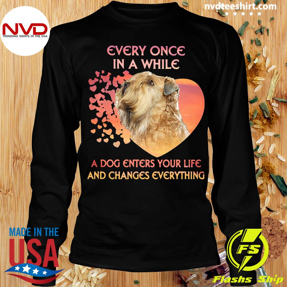 Official Shih Tzu Every Once In A While A Dog Enters Your Life And Changes Everything T-s Longsleeve