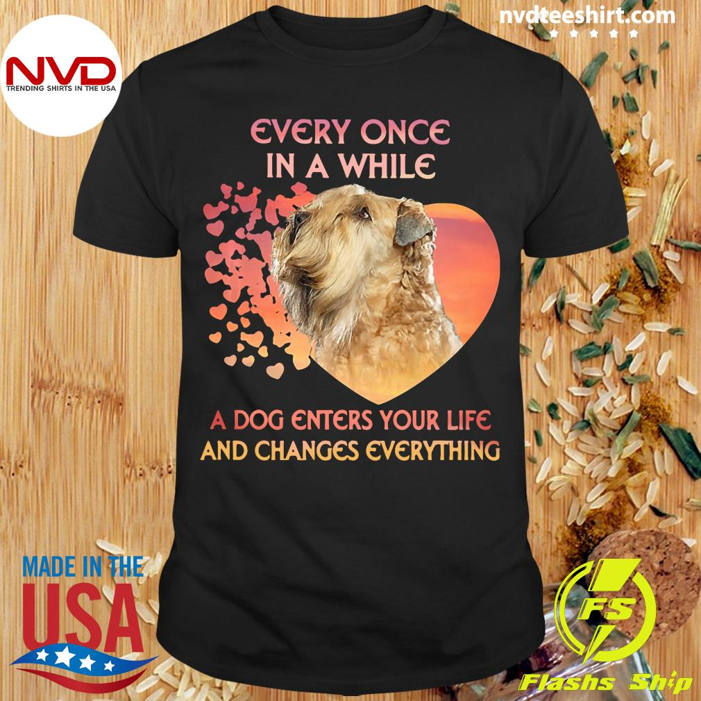 Official Shih Tzu Every Once In A While A Dog Enters Your Life And Changes Everything T-shirt